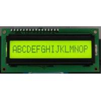 Buy cheap 16*1character LCD Modules With STN (yellow-green) (SMC 1601A) from wholesalers