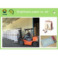 Buy cheap Mixed Pulp Coated Blister Board Paper Back For Product Packaging Strong Stiffness from wholesalers
