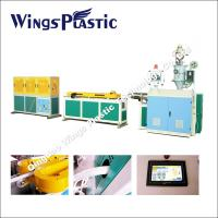 Buy cheap Plastic PP Expansible Basin Pipe / Kitchen Sink Drain Pipe Making Machine from wholesalers