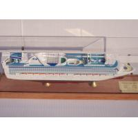 Buy cheap OEM ODM Princess Cruise Ship Models With Injection Mold Making Anchor Material from wholesalers