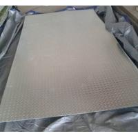 Buy cheap Bright Silver Hot Rolled Steel Sheet Coil Chequered GB20 Grade Anti Slip from wholesalers
