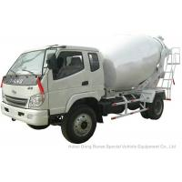 Buy cheap T. King Chassis Concrete Mixer Truck 2 CBM , Ready Mix Cement Trucks product