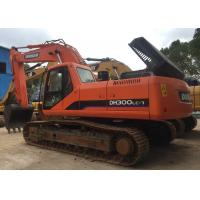 Buy cheap Low Working Hour Used Crawler Excavator Daewoo / Doosan DH300LC-7 for Earthwork from wholesalers