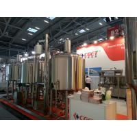Buy cheap Beer Brewery Project from CGET-Zhongde company from wholesalers