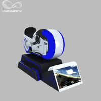 Buy cheap 1 Person Online Race 9D VR Motorcycle Car Driving Simulator Black Or White Color product