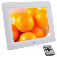 Buy cheap 8 inch Digital Picture Frame with Remote Control Support SD / MMC / MS Card and USB product