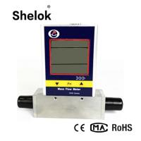 Buy cheap MF5000 4-20mA nitrogen gas biogas 3 ~ 19 mm thermal mass flow meter from wholesalers