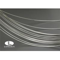 Silver Electrical Cable : Iso silver alloy wire high electrical conductivity for