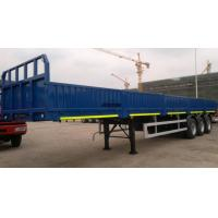 Buy cheap Bulk Cargo / Container Semi Trailer 400 - 600mm Sidewall Height 50T Payload from wholesalers