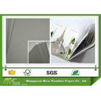 Buy cheap Thick Paperboard Uncoated Grey Cardboard Paper Sheet Laminated Offset Printing from wholesalers