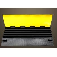 Buy cheap PVC Cover Rubber Road Hump  High Quality Rubber Base With Channels For 2 Cable Protection from wholesalers