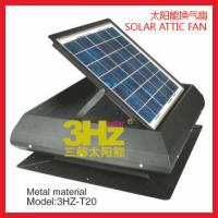 Quality solar attic fans for sale