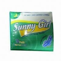Buy cheap Sanitary Napkin, Comes in 245, 270, 280, 295 and 320mm Sizes from wholesalers