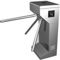 Buy cheap Intelligent Vertical Turnstile Gate #304 Stainless Steel with bar code Reading product