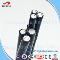 Buy cheap Low Voltage XLPE Insulated Service Drop Cable Duplex Bull Messenger Wire from wholesalers