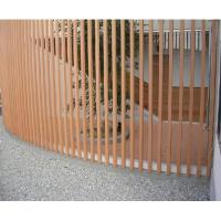 Buy cheap Thin WPC Outdoor Fence and Colum Ornament Wall Cladding Gates from wholesalers