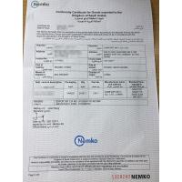 COMFORT INT'L Co.,Ltd. Certifications