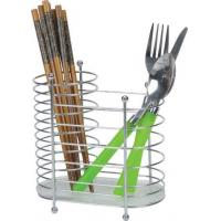 Buy cheap Chrome Wire Chopsticks Rack Home Kitchenware Knife and Fork Caddy for Kitchen Room from wholesalers