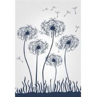 Buy cheap Living Room Wall Panels Interior Bamboo Fiber Mold Resistant Flying Dandelion from wholesalers