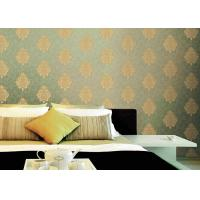 Buy cheap Classical Damask Pattern PVC Vinyl Wallpaper Non pasted Wallpaper Roll product