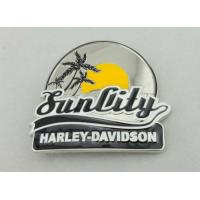 Buy cheap Harley Davidson Belt Custom Made Belt Buckles With Enamel For Decoration from wholesalers