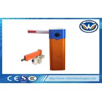 Buy cheap OEM Customized Car Park Barrier System , Remote Control Drop Arm Barrier Gate from wholesalers