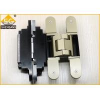 Buy cheap German Metal Invisible Door Hinges Thickness 60mm Load 100 Kg Per Pair from wholesalers