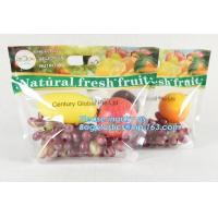 Buy cheap resealable stand up pouch slider zipper fresh fruit/vegetable protection packaging bag, OPP Laminated Slider Fruit / Gra from wholesalers