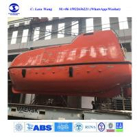 Buy cheap 20~150P MED Enclosed Lifeboat c/w Rescue Boat with Gravit type Davit from wholesalers