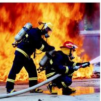 Buy cheap Firemen super quality fire retardant suit supplier from wholesalers