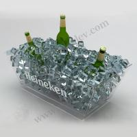 Buy cheap OEM / ODM Acrylic Pop LED Liquor Bottle Display Full Beer Glorifier Stand from wholesalers