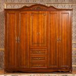 Buy cheap 6 Feet Wardrobe 6 Door , Modern Solid Oak Wardrobe Ce Iso Certificated from wholesalers