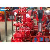 Buy cheap Residential / Industrial End Suction Fire Pump Single Impeller UL / FM Listed from wholesalers
