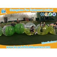 2017 popular sport games inflatable bubble ball / bubble soccer / bumper ballz