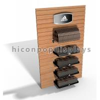 Buy cheap Wall Mount Slatwall Display Units / Slatwall Caps and Hats Displays Dust Proof from wholesalers
