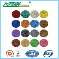 Buy cheap Custom Colored EPDM Granulated Rubber 1.3mm Vertical Deformation from wholesalers