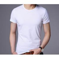 Buy cheap Latest Designs Custom Printed T Shirt Design Your Own Men Short Sleeve colorful summer man Tshirt from wholesalers