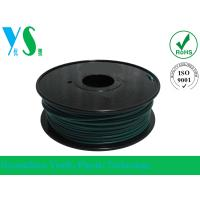 Buy cheap Professional 1.75mm Green PLA 3D Printer Filament YouSu For Makerbot from wholesalers