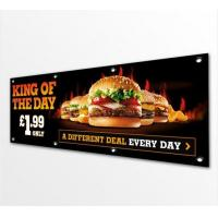 Buy cheap Double Sided Pvc Vinyl Banners And Flags Outdoors / Indoor Solvent Printing from wholesalers
