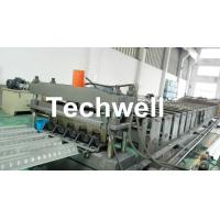 Buy cheap Easy Operation Customized Steel Metal Sheet Decking Floor Roll Forming Machine from wholesalers