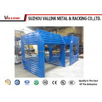 Buy cheap Stackable Warehouse Steel Shelving Equipment Powder Coated 1000kg Capacity from wholesalers