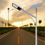 Buy cheap ROHS Approved 60 Watt DC12V Solar Panel Street Light from wholesalers