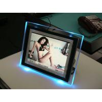 Buy cheap Tansparent Led Lighted Acrylic Photo Frames For Cards , Electrical Insulated product