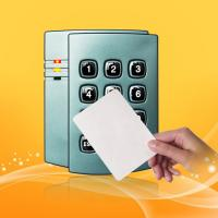 Buy cheap 125 KHz Proximity Card Reader With Keypad Waterproof Wiegand 26/34 from wholesalers