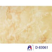 Buy cheap Blue Sky Wear Resistance PVC Decorative Film , Pvc Ceiling Film Simulation Of Marble from wholesalers