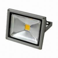 Buy cheap 100W LED Floodlight, Made of Aluminum Alloy, 30,000-hour Lifespan, IP65 Grade, CE/RoHS Marks product
