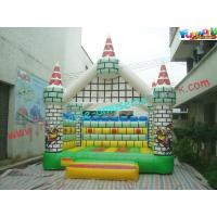 Buy cheap CE / EN14960 Hiring Bouncy Castles Beautiful Printing Inflatable Jumper from wholesalers