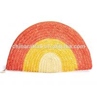 Buy cheap Trendy Ladies Wheat Straw Cloth Bag HandBag Purse Cloth Bags from wholesalers