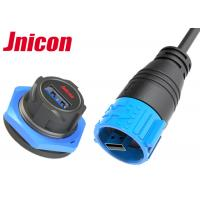 Buy cheap Jnicon Waterproof USB Connector Panel Mount A Type Single Port For Data Transmission from wholesalers