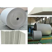 Buy cheap 670gsm Grey Paper Roll for printing industry / bottled water plate / statinery / boxes from wholesalers